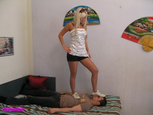 Young Mistress Trampling